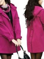 CW6011012 เสื้อโค้ทกันหนาวตัวยาว ผ้าขนสัตว์ ปกเชิ้ต กระดุมหน้า อบอุ่นมาก แฟชั่นเกาหลี (พรีออเดอร์)