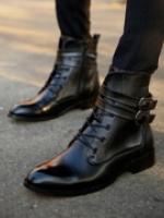 XV5808002 รองเท้าหนังบู๊ทมาร์ตินสั้นอังกฤษผู้ชาย (พรีออเดอร์) รอ 3 อาทติย์หลังโอน
