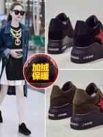 TW6011001 รองเท้าผ้าใบแต่งรูปดาวแฟชั่นเกาหลี (พรีออเดอร์) รอ 3 อาทิตย์หลังโอนเงิน