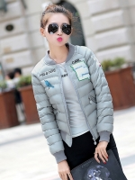KW5911007 เสื้อแจ๊กเก็ตเบสบอลหญิงฤดูหนาว 2016(พรีออเดอร์) แฟชั่นเกาหลี รอ 3 อาทิตย์หลังชำระเงิน