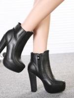 YW5711011 รองเท้าส้นสูงบูทมาร์ติน หนาในยุโรปและอเมริกา (พรีออเดอร์) รอ 3 อาทิตย์หลังโอนเงิน