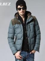 CM5809002 เสื้อโค้ทผู้ชาย กันหนาวมีฮูด แฟชั่นเกาหลี (พรีออเดอร์) รอ 3 อาทิตย์หลังชำระเงิน