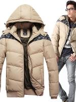 CM5709007 เสื้อโค้ทผู้ชาย กันหนาว มีฮูด แฟชั่นเกาหลี (พรีออเดอร์) รอ 3 อาทิตย์หลังชำระเงิน