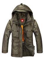 CM5709008 เสื้อโค้ทผู้ชาย กันหนาว มีฮูด แฟชั่นเกาหลี (พรีออเดอร์) รอ 3 อาทิตย์หลังชำระเงิน