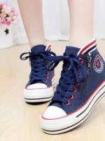 TW6002005 รองเท้าผ้าใบ แฟชั่นเกาหลี (พรีออเดอร์) รอ 3 อาทิตย์หลังโอนเงิน