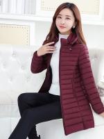CW6011001 เสื้อโค็ชกันหิมะคอสูงเสื้อกันหนาวแบบ anti-quarter (พรีออเดอร์)