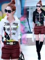 GW5712005 เสื้อเชิ้ตสาวเกาหลี พิมพ์ลายการ์ตูน น่ารัก (พรีออเดอร์)รอสินค้า 3อาทิตย์หลังโอนเงิน