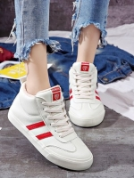 TW6103001 รองเท้าผ้าใบ แฟชั่นเกาหลี (พรีออเดอร์) รอ 3 อาทิตย์หลังโอนเงิน
