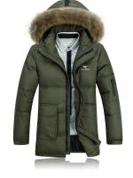 CM5710007 เสื้อโค้ทผู้ชาย กันหนาว มีฮูดแต่งเฟอร์ขน แฟชั่นเกาหลี (พรีออเดอร์) รอ 3 อาทิตย์หลังชำระเงิน
