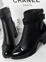 YW5711003 รองเท้าส้นสูงบูทมาร์ติน หนาในยุโรปและอเมริกา (พรีออเดอร์) รอ 3 อาทิตย์หลังโอนเงิน