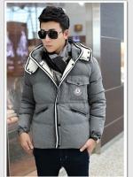 CM6010001 พรีออเดอร์ สีเทา เสื้อกันหนาวผู้ชายโค้ทขนเป็ดผู้ชายกันหนาวเสื้อกันหิมะกันอุณหภูมิติดลบ ขนเป็ดแท้