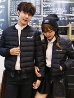 CW6002002 เสื้อแจ็กเก็ตฤดูหนาวงานเกาหลี (พร้อมส่ง สีดำ XL