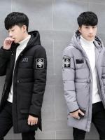 CM6010002 สีดำ สีเทา สีกรมท่า เสื้อโค้ทผู้ชายมีฮูดHoodedกันหนาว (พรีออเดอร์)