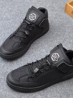 TW6011004 ผู้ชายรองเท้ารองเท้าฤดูใบไม้ร่วงฤดูใบไม้ร่วง 2017 ชายคนใหม่สูงเพื่อช่วยรองเท้ารองเท้าลำลองวัยรุ่นรองเท้าลูกไม้ยืดหยุ่นเกาหลี