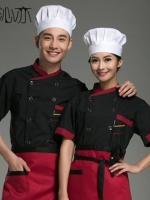 C6002001 ชุดพ่อครัว แม่ครัว เชฟโรงแรม ร้านอาหาร (พรีออเดอร์) รอสินค้า 3 อาทิตย์หลังโอน
