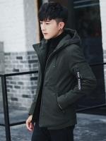 CM6010003 เสื้อแจ็กเก็ตเสื้อโค้ตผู้ชายมีฮูดฤดูหนาว (พรีออเดอร์) รอ 3 อาทิตย์หลังชำระเงิน