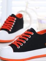 TW6006001 รองเท้าผ้าใบ แฟชั่นเกาหลี (พรีออเดอร์) รอ 3 อาทิตย์หลังโอนเงิน