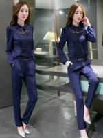 UP5910005 เสื้อชุดกางเกงสูทผู้หญิงสาวทำงานแฟชั่นเกาหลี (พรีออเดอร์)