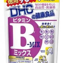 DHC Vitamin B-MIX (90วัน) รักษาและป้องกันการเกิดสิว ลดปัญหาสิวเสี้ยน สิวอุดตัน ผดผื่นบนใบหน้าได้ดี ช่วยให้หน้าเนียนเรียบ **ขายดีมาก ราคาเกินคุ้ม**