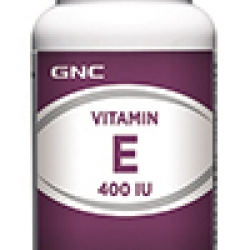 GNC Vitamin E 400 IU จีเอ็นซี วิตามินอี 400 ไอยู 100 Softgel Capsules Code: 099122 เลขทะเบียน อย. 1C 5/44