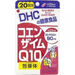 DHC Co-enzyme Q10 (20วัน) ลดเลือนริ้วรอย คืนความอ่อนเยาว์ อ่อนกว่าวัย ป้องกันการเกิดริ้วรอย ชะลอความแก่ได้อย่างดีเยี่ยม ช่วยบำรุงสมองและบำรุงหัวใจ
