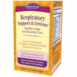 Nature's Secret Respiratory Support & Defense™ / 60 Tablets