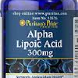 Puritan's Pride Alpha Lipoic Acid 300 mg / 60 Softgels