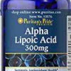 Puritan's Pride Alpha Lipoic Acid 300 mg / 60 Softgels