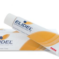 ELIDEL :: Pimecrolimus Cream 1% ลดผื่นคัน สิวผด ลดอาการอักเสบ ระคายเคือง สิวจากสเตียรอยด์ 15g