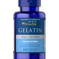 Puritan's Pride Gelatin 650 mg / 100 Caps