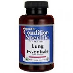 Swanson Condition Specific Formulas Lung Essentials /120 Veg Caps