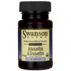 Swanson Ultra Astaxanthin & Zeaxanthin / 60 Sgels