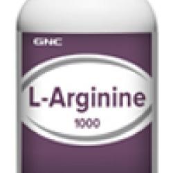 GNC L-Arginine 1000 จีเอ็นซี แอล อาร์จินีน 1000มก. 90 Capsules