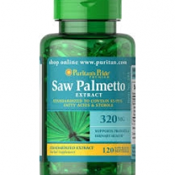 Puritan's Pride Saw Palmetto Standardized Extract 320 mg / 120 Softgels