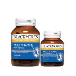 Blackmores Multivitamins and Minerals ขนาด 120 แคปซูล