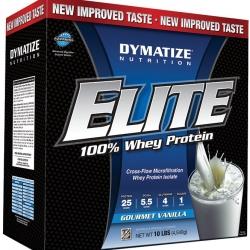 Dymatize Elite Whey Protein, รส วานิลลา , 10lbs
