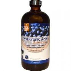 Neocell Hyaluronic Acid Blueberry Liquid 16 fl oz (473 ml)