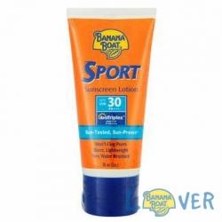 โลชั่นกันแดดกันเหงื่อสำหรับเล่นกีฬา Banana Boat Ultra Sport Sunscreen Lotion SPF30 PA+++ 90 ml