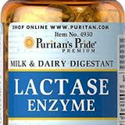 Puritan's Pride Super Lactase Enzyme 125 mg / 60 Softgels