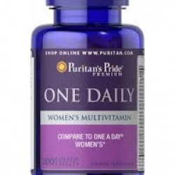 Puritan's Pride Women's One Daily Multivitamins / 100 Caplets