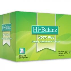 ดีท็อกซ์ ด้วย Hi-Balanz KDTX Plus 10 ซอง (กล่องใหญ่) ซื้อ2กล่องส่งฟรีEMS