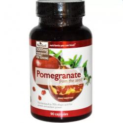 สารสกัดทับทิมเข้มข้นเพื่อผิวขาวใสกระจ่าง จาก USA ยอดนิยม Neocell Pomeganate from seed – 1,000 mg / 90 Caps สำเนา