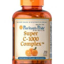 Puritan's Pride C-1000 Complex™ / 250 Coated Caplets