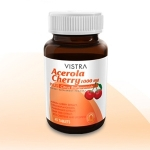 Vistra Acerola Cherry 1000 mg ขนาด 45 แคปซูล