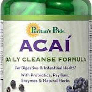 Puritan's Pride Acai Daily Cleanse / 90 Capsules