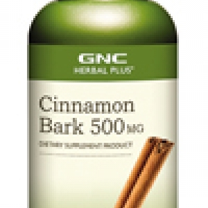 GNC Cinnamon Bark 500mg จีเอ็นซี ซินนามอน บาร์ค 500มก. 100 Capsules Code: 198532 เลขทะเบียน อย. 10-3-02940-1-0196