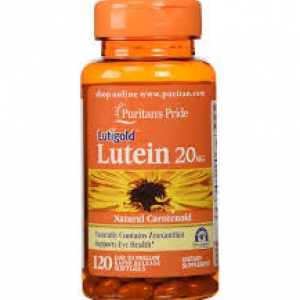 Puritan's Pride Lutein 20 mg with Zeaxanthin 800 mcg / 120 Softgels