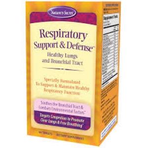 Nature's Secret Respiratory Support & Defense™ / 60 Tablets