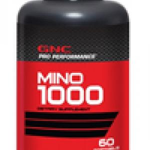 NC Pro Performance® Mino 1000 กรดอะมิโน 1000 มก. 60 Softgel Capsules Code: 752566 เลขทะเบียน อย. 10-3-02940-1-0024