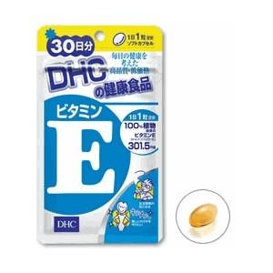 DHC Vitamin E (30วัน) ช่วยลดจุดด่างดำต่างๆ ฝ้า กระ ลดริ้วรอย ลดปัญหาผิวแห้งกร้าน เพิ่มความชุ่มชื้นให้แก่ผิว ชะลอความแก่ คืนความอ่อนเยาว์ให้แก่ผิวพรรณ